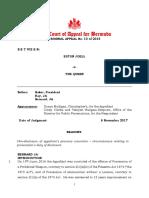 Criminal Appeal No 10 of 2016 Eston Joell v the Queen 28Judgment 29