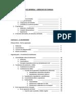 7. Derecho de Familia - Indice General