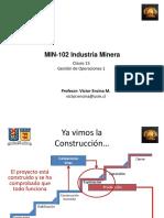 MIN-102 2015-1 Clase 15