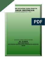 Program Praktik Bahasa Indonesia Kelas Ix 1516