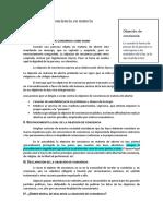 Objeción de Conciencia-resumen