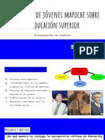 Clases Sociales y Educación - Avance Expectativas Jóvenes Mapuche Sobre Educación Superio