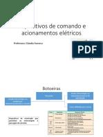 Dispositivos-comando e Acionamento