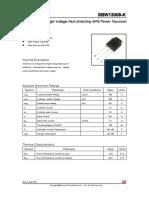 Datasheet TBJ SBW13009-K