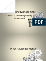 Engineering Management Ch1