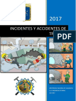 Accidentes e Incidentes de Trabajo en Mineria