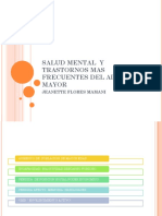Salud Mental y Trastornos Mas Frecuentes Del Adulto