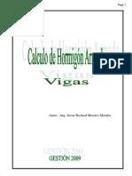 CALCULO DE VIGAS DE CONCRETO