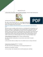 eled 310 multicultural text set