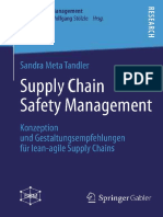 (Supply Chain Management) Sandra Meta Tandler (auth.)-Supply Chain Safety Management_ Konzeption und Gestaltungsempfehlungen für lean-agile Supply Chains-Gabler Verlag (2013)