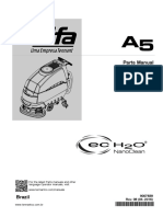 Spare Parts Máquina Lavagem de Piso A5