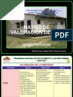 Matriz de Valoracion Del Pei716