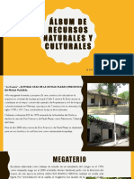 Álbum de Recursos Naturales y Culturales