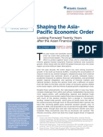 Shaping the Asia-Pacific Economic Order