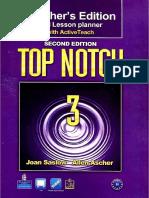 Top Notch 3 Teacher's Book