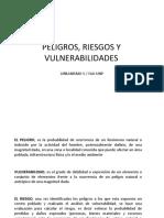 (19) Peligros, Riesgos y Vulnerabilidades