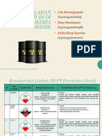 Karakteristik Limbah B3 PT Petrokimia