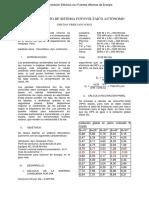 Dimensionamiento de Sistema Fotovoltaico Autonomo