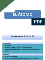 FyQ 3º ESO T2 atomo