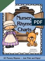 Nursery Rhyme Charts