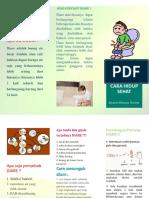 Leaflet Swamedikasi Diare Kelompok 5