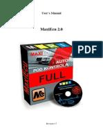 MaxiEcu User s Manual 1 8