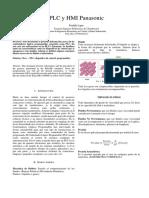 PLC y HMI Panasonic.docx