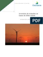 Inventario de Emissoes de Gases de Efeito Estufa Das Empresas Eletrobras 2016