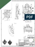 Plano de pieza, fresadora CNC