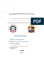Procesos Electorles en El Peru Economia Politica