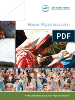 Hr Human Rights Education Manual for NHRIs