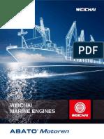 Marine Engines ABATO Weichai