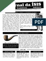 Jornal Da Ísis 001 Imprimir Frente