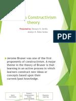 Bruners Constructivism Theory