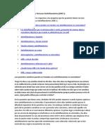 Estudio Fármacos Antiinflamatorios