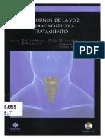 CASADO Trastornos de La Voz Del Diagnostico Al Tratamiento
