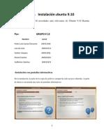 Manual Instalacion Ubuntu 9