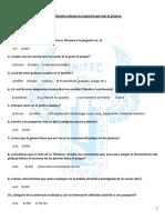 Cuestionario (Pulque)