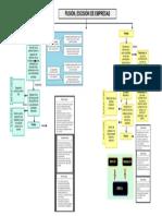 Mapa Conceptual Fusion Escision de Empresas