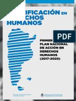Plan Nacional de Acción en Derechos Humanos