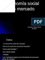 Econom a Social de Mercado