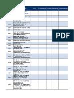 Modelo de tabulación de Empresa