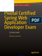Pivotal Certified Spring Web Application Developer Exam a Study Guide