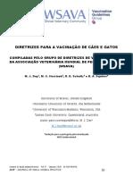 WASAVA 2015 - DIRETRIZES PARA A VACINAÇÃO DE CÃES E GATOS.pdf
