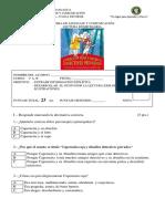 Lenguaje 1º Prueba Lectura Caperucita Roja y Abuelita Detectives Privados.