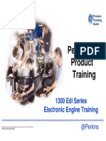 Perkins 1300 Edi Training Course