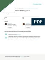 Topicos Selectos de Investigacion en Psicología