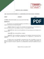 Respuesta del Gobierno a la pregunta parlamentaria de Juan Antonio Delgado (Unidos Podemos) sobre los pabellones de la Guardia Civil