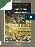 El Misterio Del Ministerio Pierre Bourdieu Y La Politica Democratica.pdf
