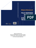 Policy Responses to the Global Financial and Economic Crisis in the CEE/SEE Region